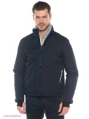 Куртка Think Pink. Цвет: темно-синий