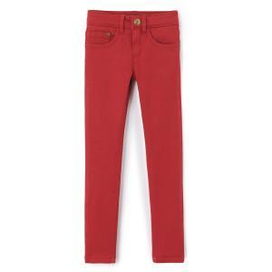 Узкие джинсы IKKS JUNIOR. Цвет: бордовый