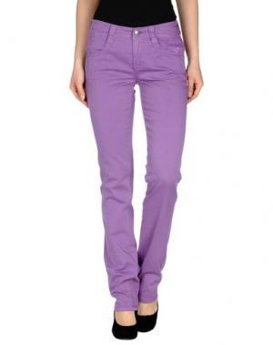 Повседневные брюки CARLO CHIONNA. Цвет: фиолетовый