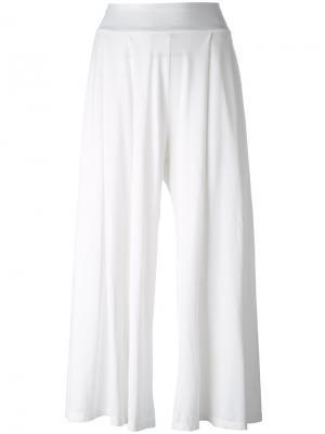 Укороченные брюки Labo Art. Цвет: белый