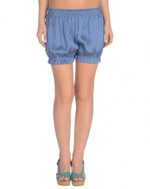 Пляжные брюки и шорты MARZIA GENESI SEA. Цвет: грифельно-синий