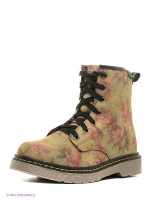 Ботинки XTI. Цвет: хаки