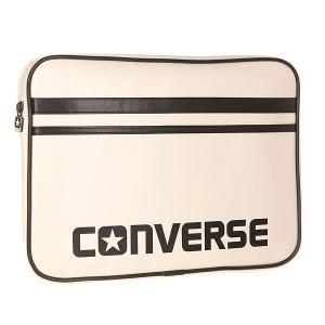 Чехол для ноутбука  Laptop Sleeve 13 Inch White Converse. Цвет: белый