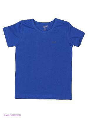 Футболка BUONUMARE. Цвет: синий