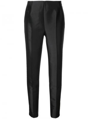 Классические брюки Gabriela Hearst. Цвет: чёрный
