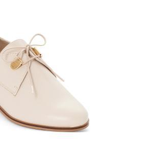 Ботинки-дерби кожаные на шнуровке, Divya JONAK. Цвет: телесный