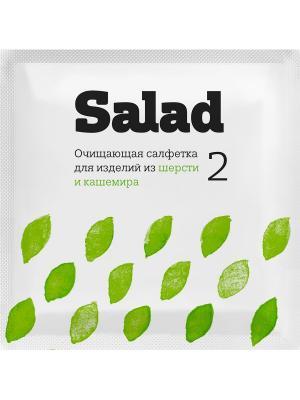 Набор салфеток №5 мини САЛАД. Цвет: белый