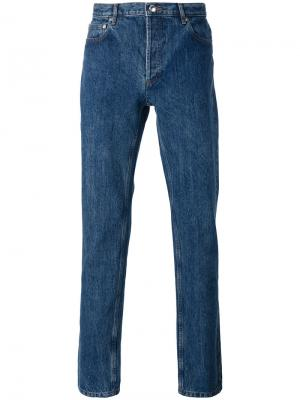 Classic jeans A.P.C.. Цвет: синий