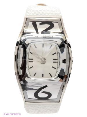 Часы Chronotech. Цвет: белый, серебристый