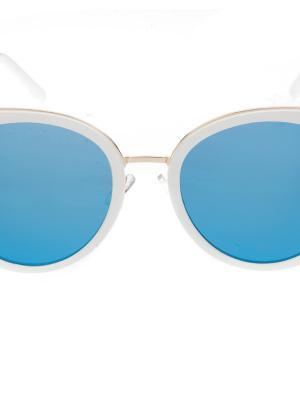 Солнцезащитные очки, iq format. Цвет: белый
