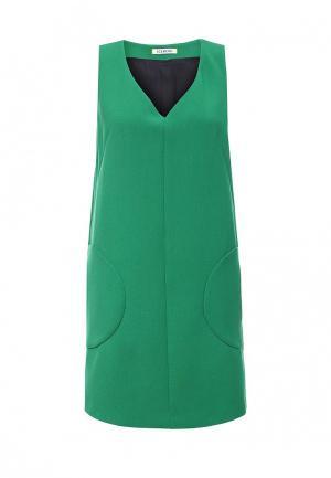 Платье Iceberg. Цвет: зеленый