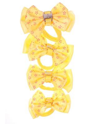 Бантики Радужки. Цвет: желтый