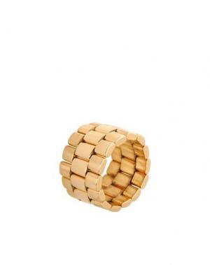 Кольцо AMBUSH. Цвет: золотистый