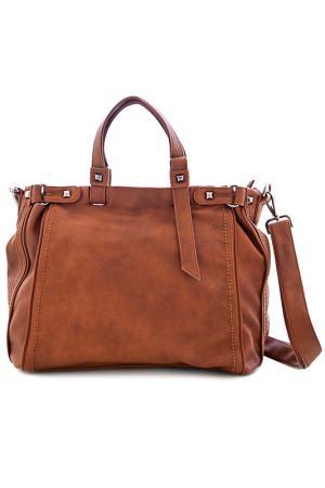 Сумка Vera bags. Цвет: коричневый