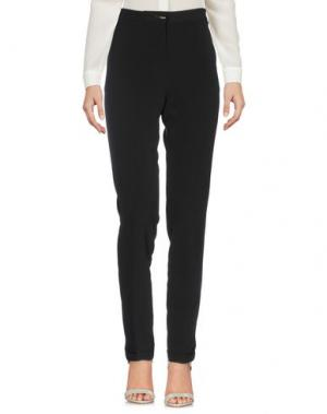 Повседневные брюки YES ZEE by ESSENZA. Цвет: черный