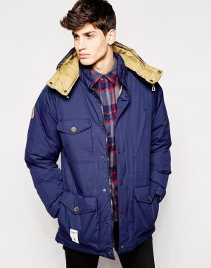 Addict Куртка Ranger. Цвет: темно-синий