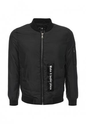 Куртка Gianni Lupo. Цвет: черный