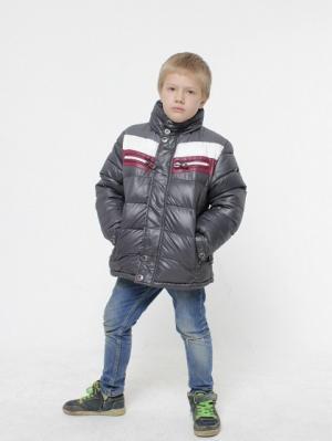 Куртка HERDAL. Цвет: серый