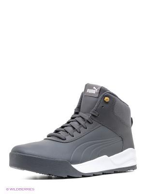 Ботинки Desierto Sneaker L Puma. Цвет: серый, белый