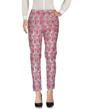 Повседневные брюки OTTOD'AME. Цвет: небесно-голубой