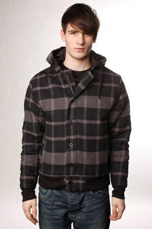 Куртка  Reese Charcoal Innes. Цвет: серый