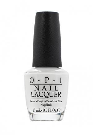 Лак для ногтей O.P.I. Цвет: белый