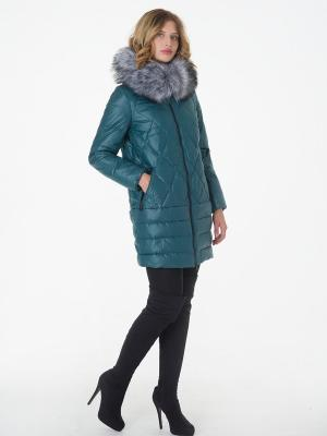 Стеганое пальто CATTAIL WILLOW. Цвет: зеленый