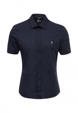 Рубашка Cesare Paciotti. Цвет: синий