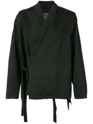 Рубашка в стиле кимоно Siki Im. Цвет: чёрный