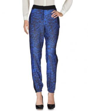 Повседневные брюки MORGAN DE TOI. Цвет: синий