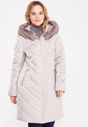 Куртка утепленная Montserrat. Цвет: бежевый
