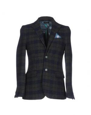 Пиджак DIMATTIA. Цвет: зеленый-милитари