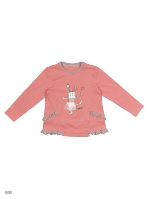 Кофточка ИП Комарова Е. П.. Цвет: розовый, серый