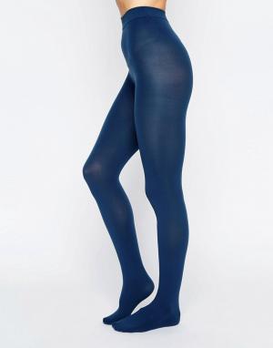 Gipsy Сине-зеленые колготки. Цвет: зеленый