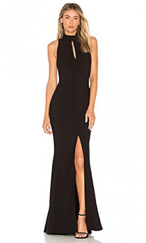 Вечернее платье harbor LIKELY. Цвет: черный