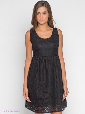 Платье Timezone. Цвет: черный