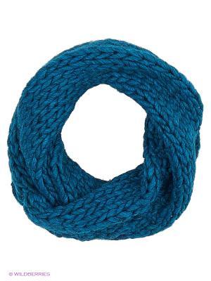 Снуд United Colors of Benetton. Цвет: морская волна