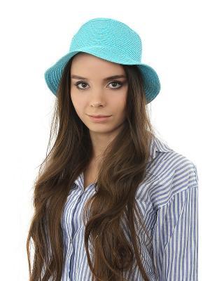 Шляпа Happy Charms Family. Цвет: голубой, золотистый