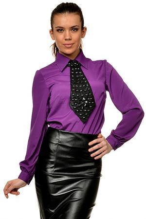 Блузка Mashenka by J.A.. Цвет: фиолетовый