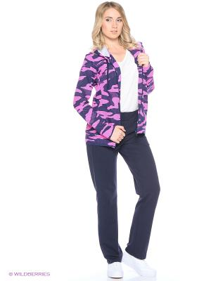 Спортивный костюм FORLIFE. Цвет: розовый, синий
