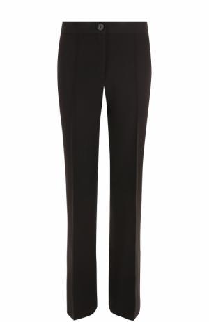Расклешенные брюки со стрелками Helmut Lang. Цвет: черный