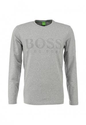 Лонгслив Boss Green. Цвет: серый