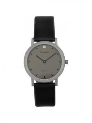 Часы UL0576LL Romanson. Цвет: черный, серебристый