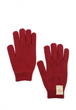 Перчатки Reebok Classics. Цвет: бордовый