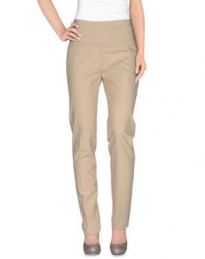 Повседневные брюки X'S MILANO. Цвет: бежевый