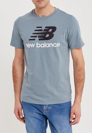 Футболка New Balance. Цвет: бирюзовый