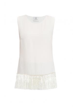 Блуза из шелка 160350 Lolita Shonidi. Цвет: бежевый