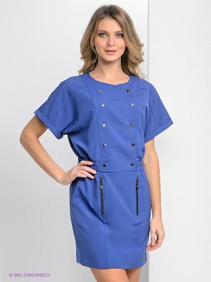 Платье Bize. Цвет: фиолетовый