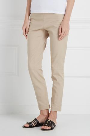Хлопковые брюки Kaufmanfranco. Цвет: бежевый