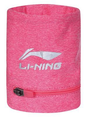 Напульсник LI-NING. Цвет: розовый